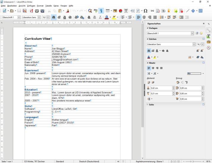 LibreOffice 5 jetzt mit 64-Bit-Unterstützung - com ...