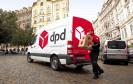 DPD-Zustellfahrzeug