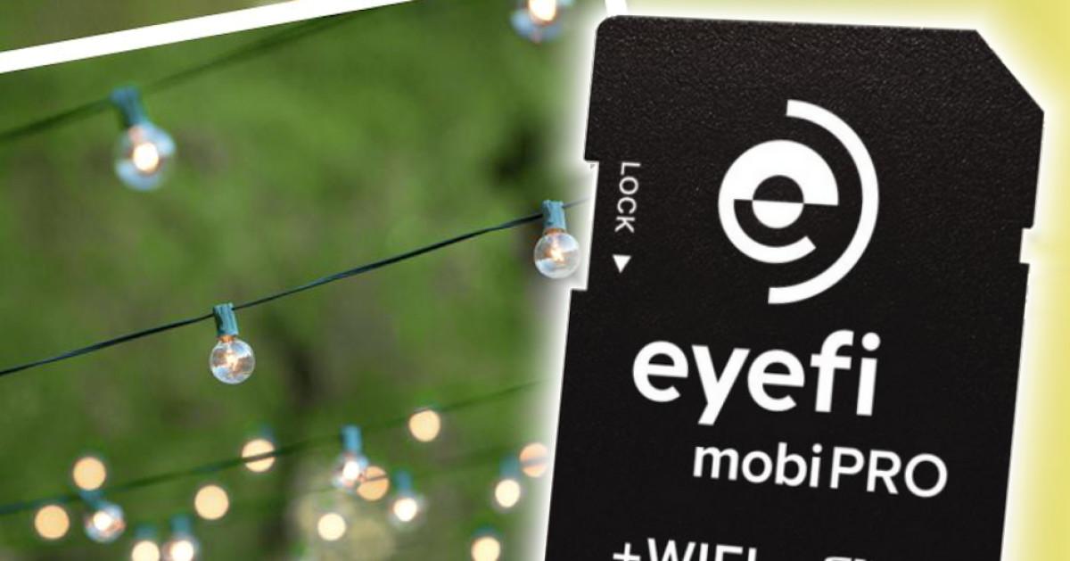 eyefi mobipro sd karte mit wlan im test com professional. Black Bedroom Furniture Sets. Home Design Ideas