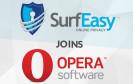 Opera mit SurfEasy VPN