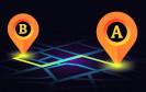 Navigation von A nach B