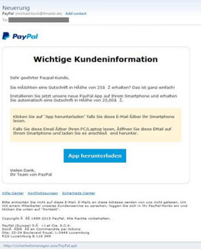 Paypal-Spam-Mail