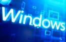 Microsoft Windows Schriftzug