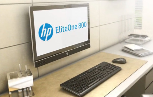 hp eliteone 800 g1 touch all in one pc im test com. Black Bedroom Furniture Sets. Home Design Ideas