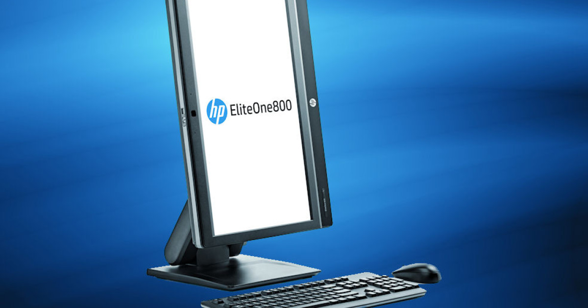 hp eliteone 800 g1 touch all in one pc im test com professional. Black Bedroom Furniture Sets. Home Design Ideas
