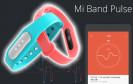 Xiaomi Mi Band 1S mit Herzfrequenzsensor