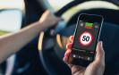 Blitzer-App auf dem Smartphone