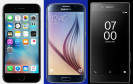 Apple iPhone, Samsung Galaxy S und Sony Xperia Z