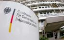 Eingang des BSI-Dienstgebäude in Bonn