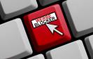 PC-Taste mit Aufschrift Werbeblocker