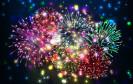 Jahresend-Feuerwerk