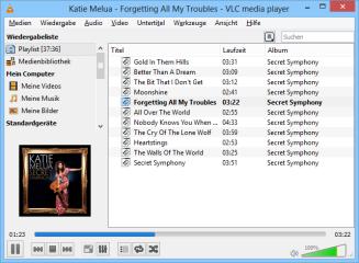 Der VLC Media Player spielt nicht nur lokal gespeicherte Audio- und Video-Dateien, sondern auch Musik von DLNA-Servern oder Netzwerkstream aus dem Internet.