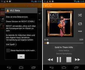 Der VLC Media Player ist inzwischen auch für Android und Apples iOS verfügbar.