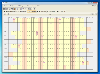Borg Calendar