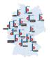 Verteilung nach Städten