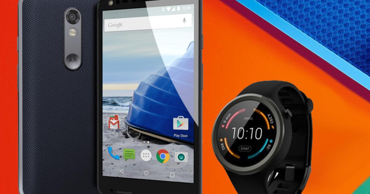 Motorola bringt Moto X Force und Moto 360 Sport
