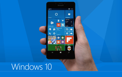 Windows 10 Mobile auf dem Smartphone