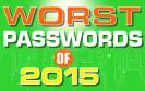 Die unsichersten Passwörter 2015
