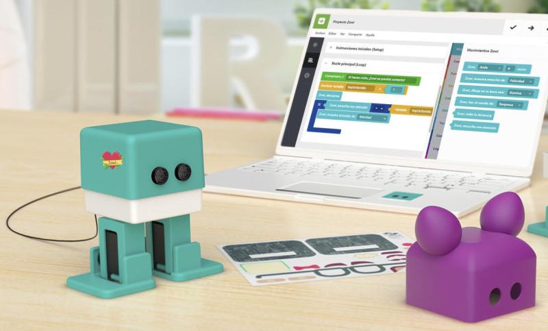 Bq stellt arduino lernroboter zowi vor com professional