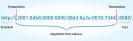 IPv6-Adresse als Webadresse: Wenn Sie eine Webseite über ihre IPv6-Adresse aufrufen wollen, dann müssen Sie die IPv6-Adresse in eckige Klammern setzen. Nur so können die einzelnen Blöcke der IPv6-Adresse und der Port voneinander unterschieden werden. Denn