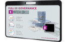 Display und Fingerabdrucksensor Go-ID!-Smartcard