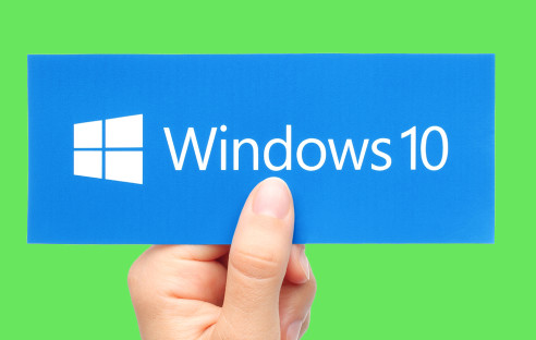 Windows-10-Schild