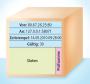 Datenpaket: Jedes Datenpaket wird mit Absender- und Empfängeradresse versehen. Sie setzt sich aus der IP-Nummer und dem Port zusammen – hier etwa 80.67.26.25:80.