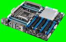 Asus P9X79-E WS: Mainboard für bis zu vier Grafikkarten