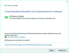 Update-Tool für Windows 10