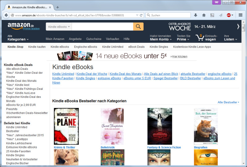amazon ebooks ohne kindle