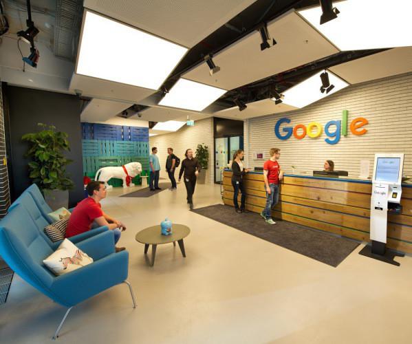 So sieht das neue google b ro in m nchen aus com for Woodworks design office 9