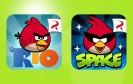 Angry Birds Rio und Angry Birds Space sind derzeit kostenlos im Amazon App-Shop erhältlich.