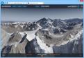 Atemberaubende Videos und Panoramen wie dieses erlauben eine einzigartige digitale Tour durch die Täler und über die Gipfel und umliegenden Gletscher der Everest-Region.