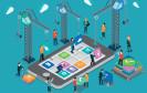 Smartphone Enterprise-Mobility-Konzept