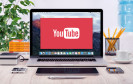 YouTube-App auf Notebook