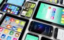 Viele verschiedene Smartphones