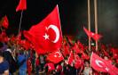 Politischen Unruhen in der Türkei