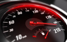 Geschwindigkeit auf Tacho