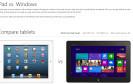 Surface-Vergleich: Microsoft poltert gegen Tablet-Konkurrenz