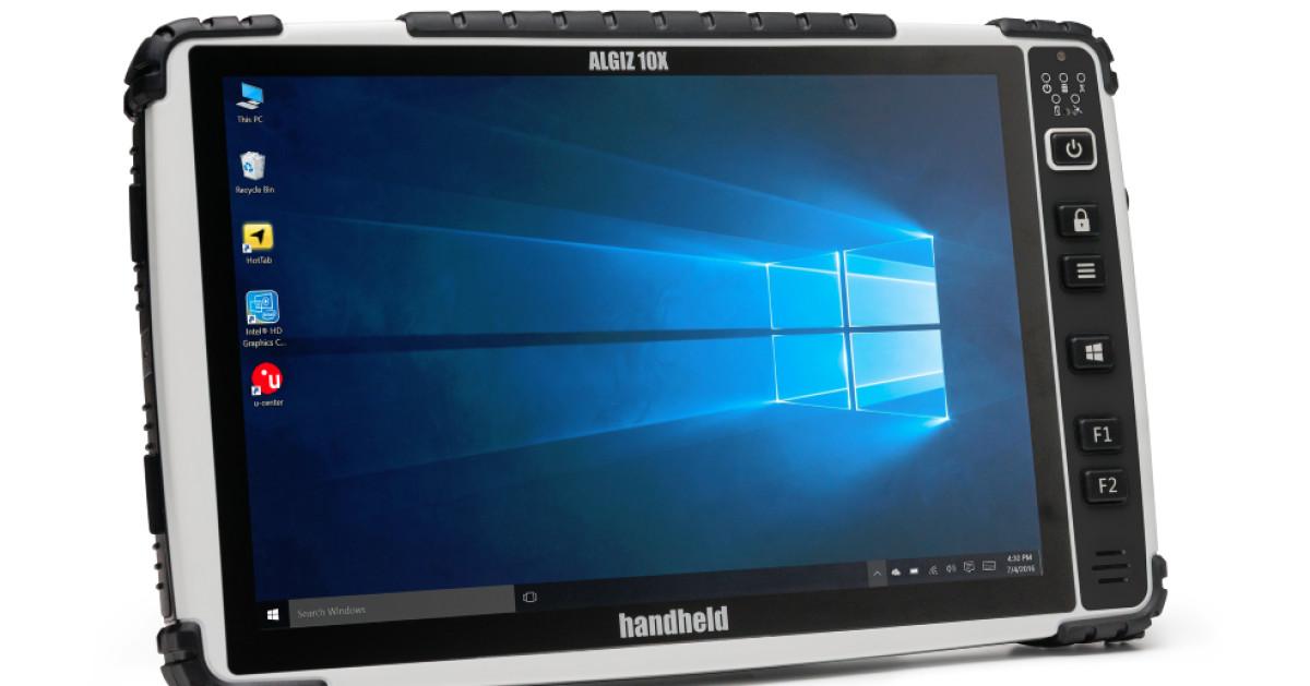 neue version des ultrarobusten tablets algiz 10x com professional. Black Bedroom Furniture Sets. Home Design Ideas