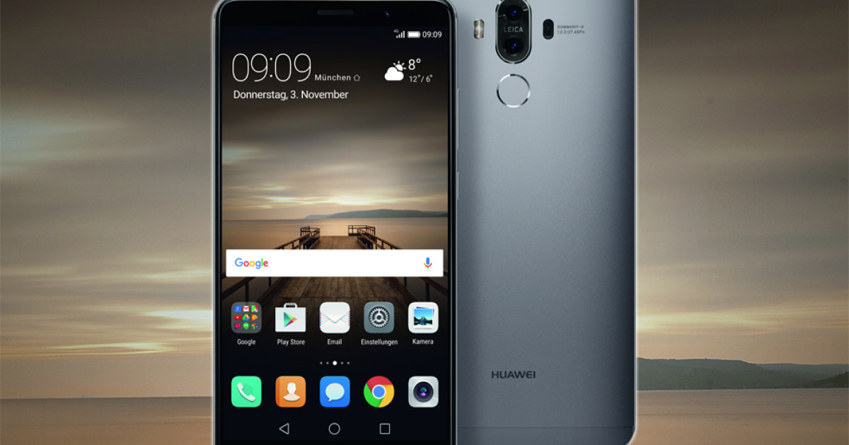 huawei mate 9 trumpft ganz gro auf com professional. Black Bedroom Furniture Sets. Home Design Ideas