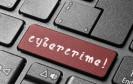 Tastatur mit Cybercrime-Taste