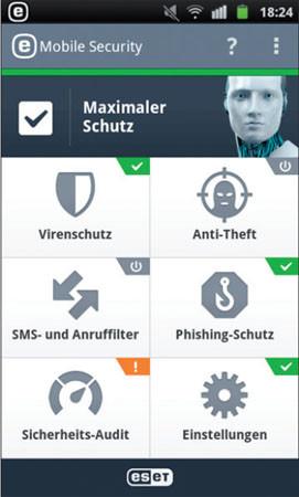 Eset Mobile Security Amp Antivirus Im Test Com Professional