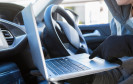 Notebook im Auto