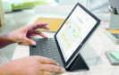 iPad Pro mit Tastatur
