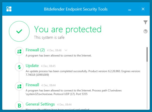Bitdefender Endpoint Security