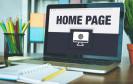 Homepage auf dem Laptop
