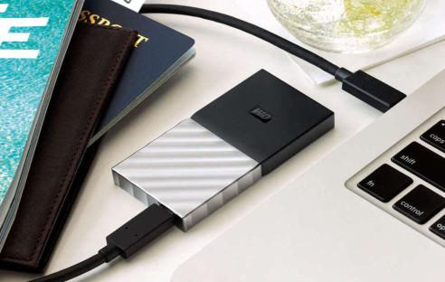 Schneller externer SSD-Datenträger von Western Digital