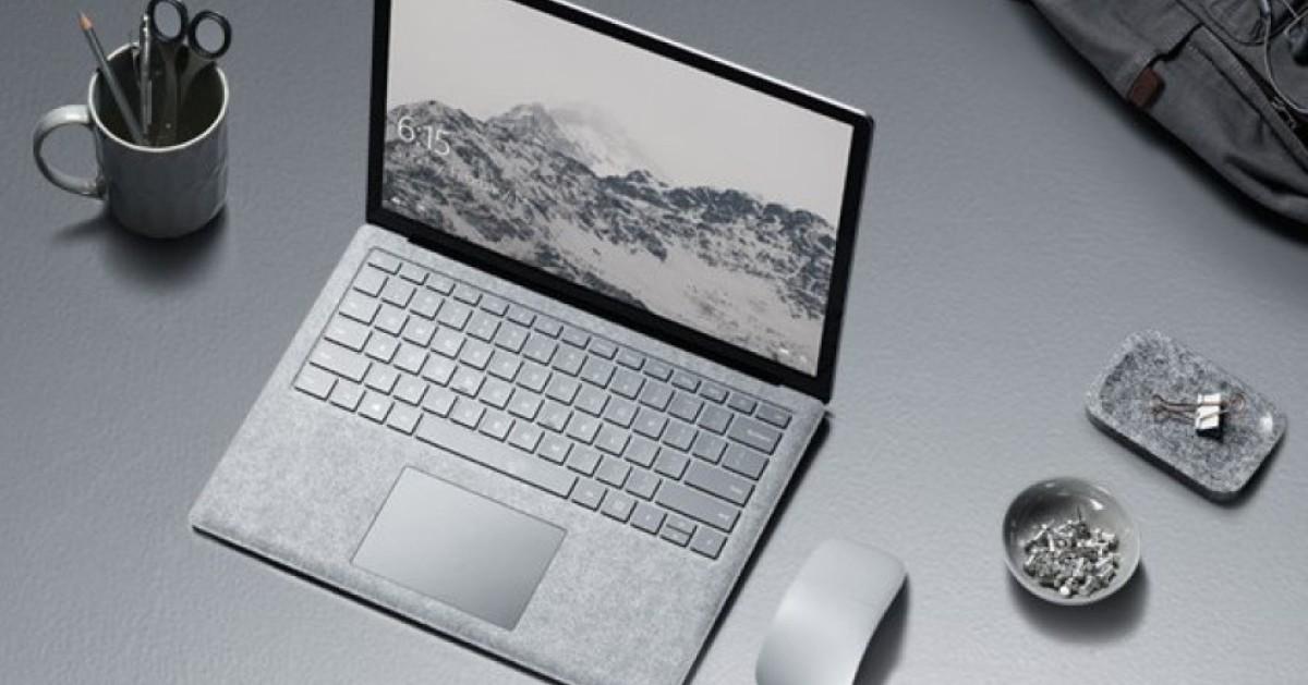 microsoft bringt surface laptop mit windows 10 s com. Black Bedroom Furniture Sets. Home Design Ideas
