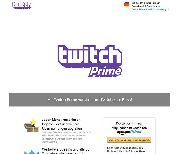 twitch prime mit amazon prime kostenlos